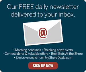 Email Newsletters Sign Up Button